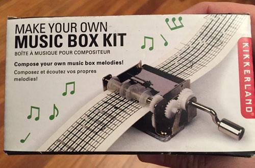 Spielzeug Kikkerland Layer Music Box Neu Titel My Way